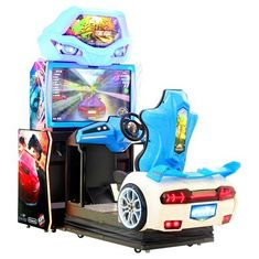 Cina Dynamic Cruisin Blast Car Racing Arcade Mesin Video Simulator 12 Bulan Garansi pemasok