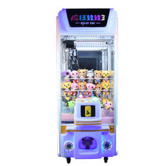 Cina Crazy Toy 3 Colorful Arcade Crane Machine, Crane Claw Teddy Bear Stuffing Machine pemasok