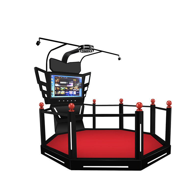 9D Walking Virtual Reality Simulator Platform Arcade Game Machine HTC VIVE VR Treadmill