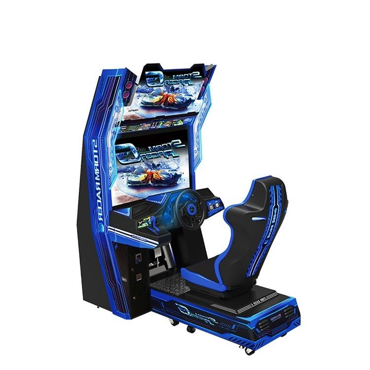 "37"" LCD Monitor Racing Arcade Machine / Car Racing Simulator Games"