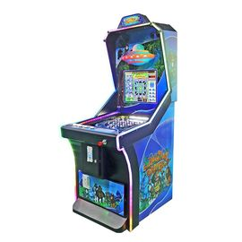 Jungle Vending Pinball Game Machine 1 Player Virtual 670 * 925 * 1850mm Ukuran