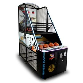 Indoor Amusement Electronic Basketball Arcade Game Mesin Koin Dioperasikan