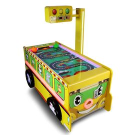 Cina Bus Shape Big Sports Game Machine Air Hockey Table Dukungan Kartu Kredit pabrik