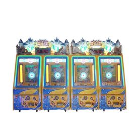 Coin Dioperasikan Castle Maze Coin Pusher Mesin Game Untuk Amusement Game Center