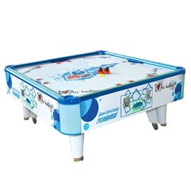 Square Cube Elektronik Air Hockey Table Game Machine Untuk 2 Pemain