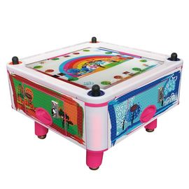 Anak Coin Pusher 4 Orang Hockey Arcade Game Mesin Air 50Hz 380W