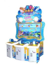 Cina Hiburan Anak Fishing Arcade Game Machine Coin Dioperasikan 110V / 220V pabrik